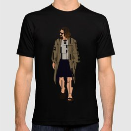 The Big Lebowski Inspired The Dude Typography Artwork T-shirt