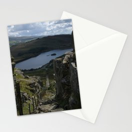 Views Towards The Tanygrisiau Reservoir Stationery Cards