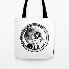 Space Monkeys Black & White Tote Bag