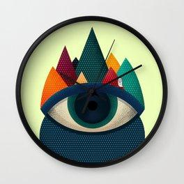 068 - I've seen it owl Wall Clock
