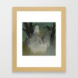 The Ghost of Lenore Framed Art Print