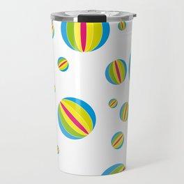 Beach Balls Travel Mug