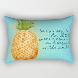 Be a Pineapple Rectangular Pillow