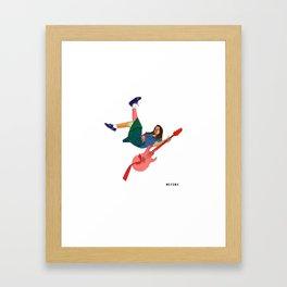 mitski Framed Art Print