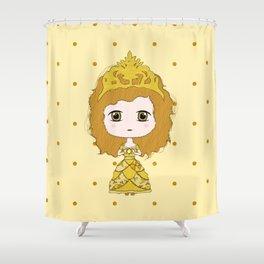 Leo Girl Shower Curtain