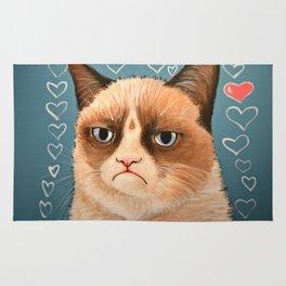 Grumpy Cat ... Love You Rug