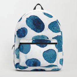 Bubbles floating in the air. Backpack