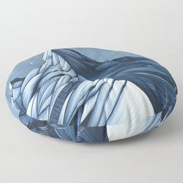 'Cystal Mountain I' Floor Pillow