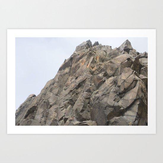 Geology Rocks. Art Print