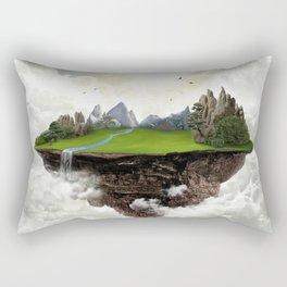 The island of silence Rectangular Pillow