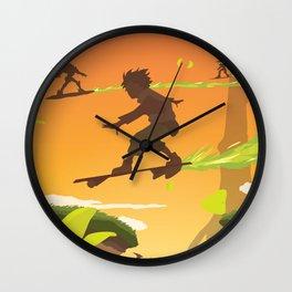Bellforest (Eureka Seven) Travel Poster Wall Clock