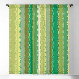 Multi-faceted decorative lines 8 Blackout Curtain