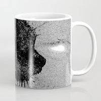 boss Mugs featuring Boss by Leffan
