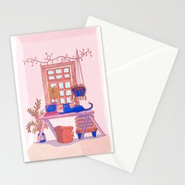 My Obnoxious Cat Stationery Cards