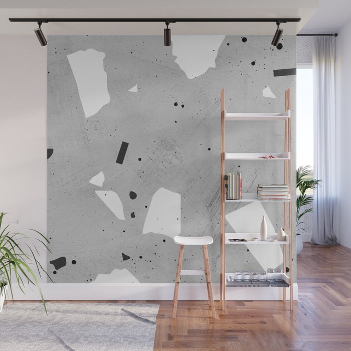 Painted Terrazzo 3 Wall Mural