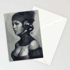 Pepper Grayscale II Stationery Cards