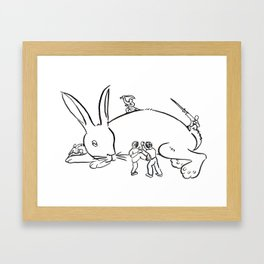 Kuo Shu Rabbit Framed Art Print