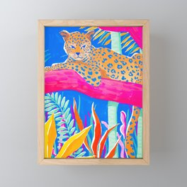 Exotic Jungle Framed Mini Art Print
