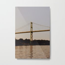 1000 Islands Bridge Metal Print