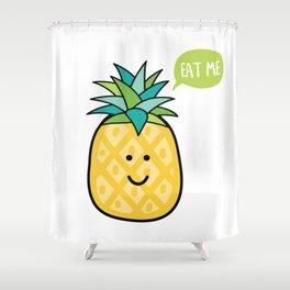 Cute Pinapple Shower Curtain