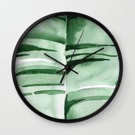 Banana Leaf no.7 Wall Clock