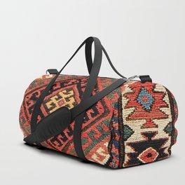 Shahsavan Khorjin Northwest Persian Azerbaijan Saddlebag Print Duffle Bag