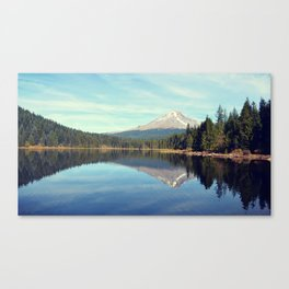 Mount Hood Trillium Lake Oregon Canvas Print