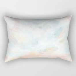 Dissipate - Bright Colorful Ocean Seascape Rectangular Pillow
