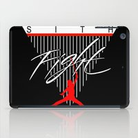sith iPad Cases featuring Sith Fight 1 by Ant Atomic