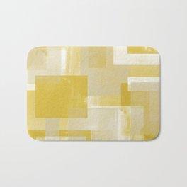 Modern Abstract No. 19 | Citron Bath Mat