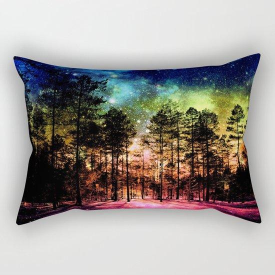 One Magical Night ( Rainbow ) Rectangular Pillow