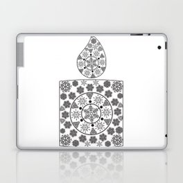 Candle of snowflakes Laptop & iPad Skin