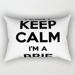 I cant keep calm I am a BRIE Rectangular Pillow
