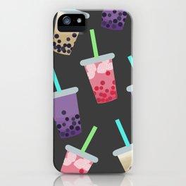 Bubble Tea Party iPhone Case