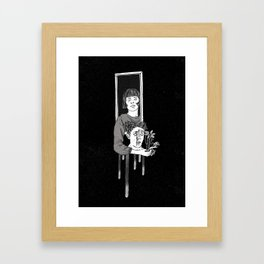"""Love is blind"" Framed Art Print"