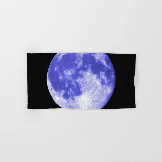 Blue Moon looks like Earth Hand & Bath Towel