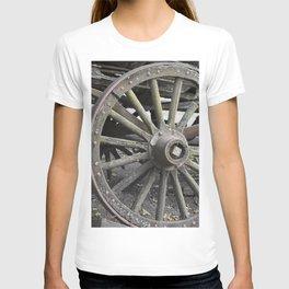 Raw Chariot Wheel T-shirt