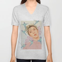 flight path [ten nct] Unisex V-Neck