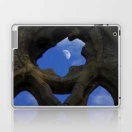 Penned in like a moon between arches Laptop & iPad Skin