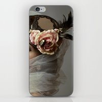 hat iPhone & iPod Skins featuring hat by Cunene