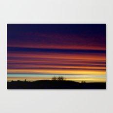 Looming, Weaving, Jupiter (001) Canvas Print
