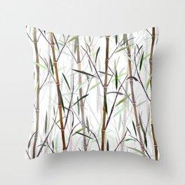 Dry Bamboo Throw Pillow