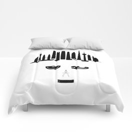 the world inside your head | Architect Comforters