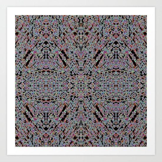 GLUONS Art Print