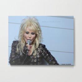 Dolly Parton Homecoming Parade 2012 Metal Print