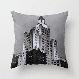 Dusk in Providence Throw Pillow