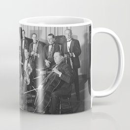 Vintage black and white photo of orchestra Coffee Mug