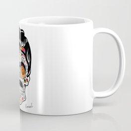 SKULL ROCK / Famous Musical Groups - Symbols - Digital Illustration Art - Pop Art - Wall Decor Coffee Mug
