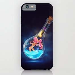 Creation in an Ampoule iPhone Case