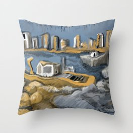 marina 5 Throw Pillow